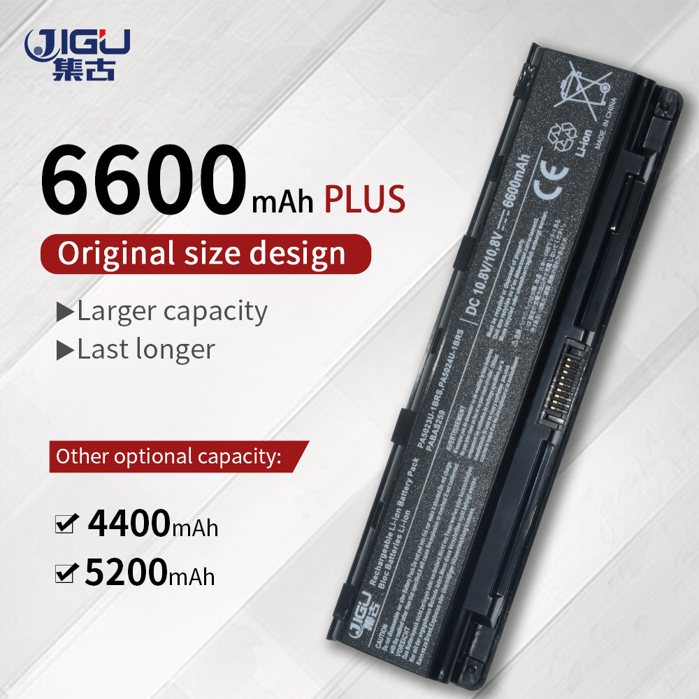 JIGU Laptop Battery For Toshiba Satellite C855D C870D C875D L800D L805D L830D L835D L840D L845D L850D L855D L870D L875D  M801D