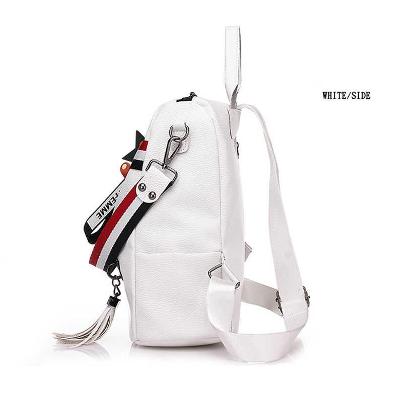 Сумки для женщин 2019 новые ретро модные на молнии женские рюкзаки из искусственной кожи высокого качества Школьные сумки на плечо для Молодежные сумки