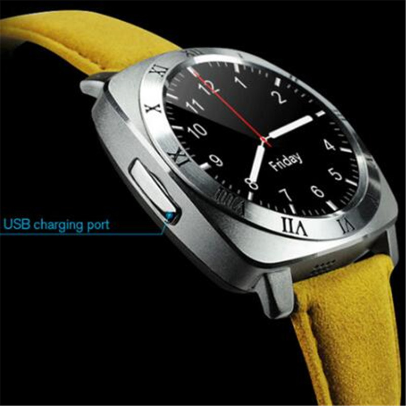 Bluetooth Smart Watch X3 With Camera Facebook Whatsapp Twitter Sync SMS Smartwatch Support SIM TF Card For IOS Android PK DZ09