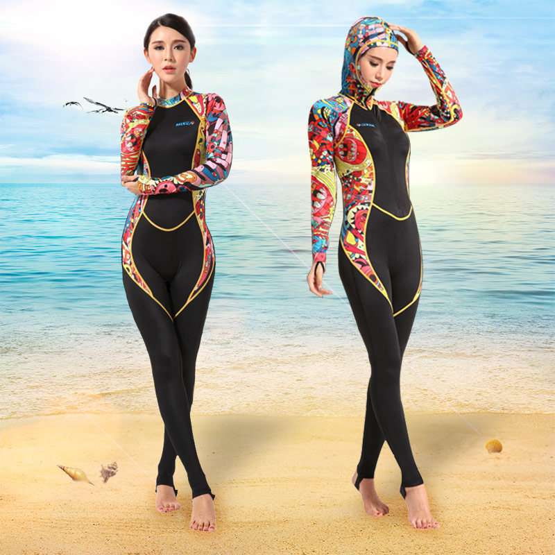 0.5mm Swimming Diving Suit Anti-UV Women's Diving Suit Bodysuit Zipper One Piece Swimwear Sexy Female Surfing Snorkeling Wetsuit high quality zipper long sleeve women swimsuit round collar sexy one pieces swimwear girl wetsuit diving swimming suit