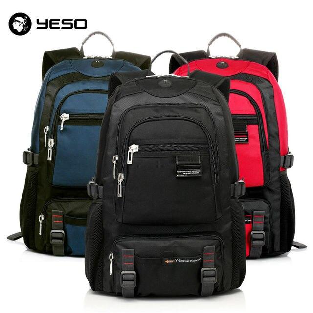 Mochila laptop para homens 14 15.6 polegada notebook sacos de escola para adolescentes mochilas unisex yeso oxford viagens de negócios à prova d' água