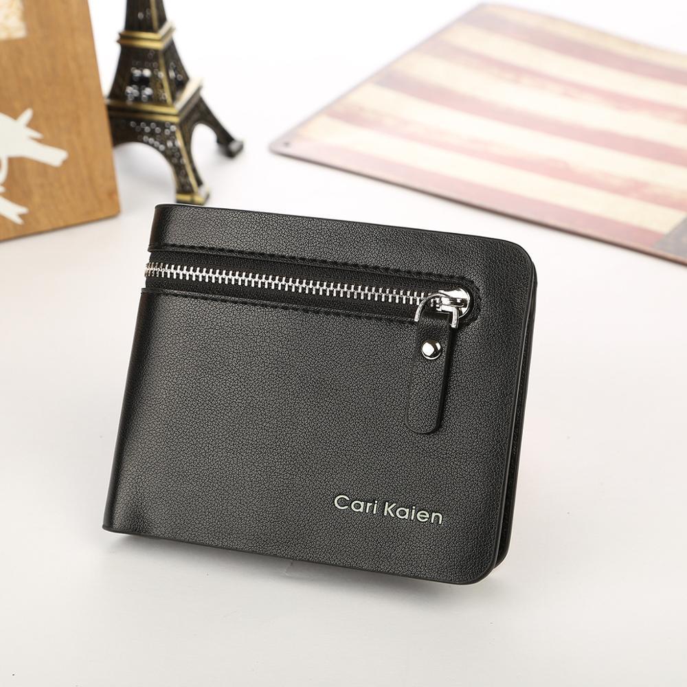 Teile Designer Reißverschluss Brieftaschen Neue Geldbörse Männer Kleine Großhandel 50 los Brieftasche Iw0qzORT