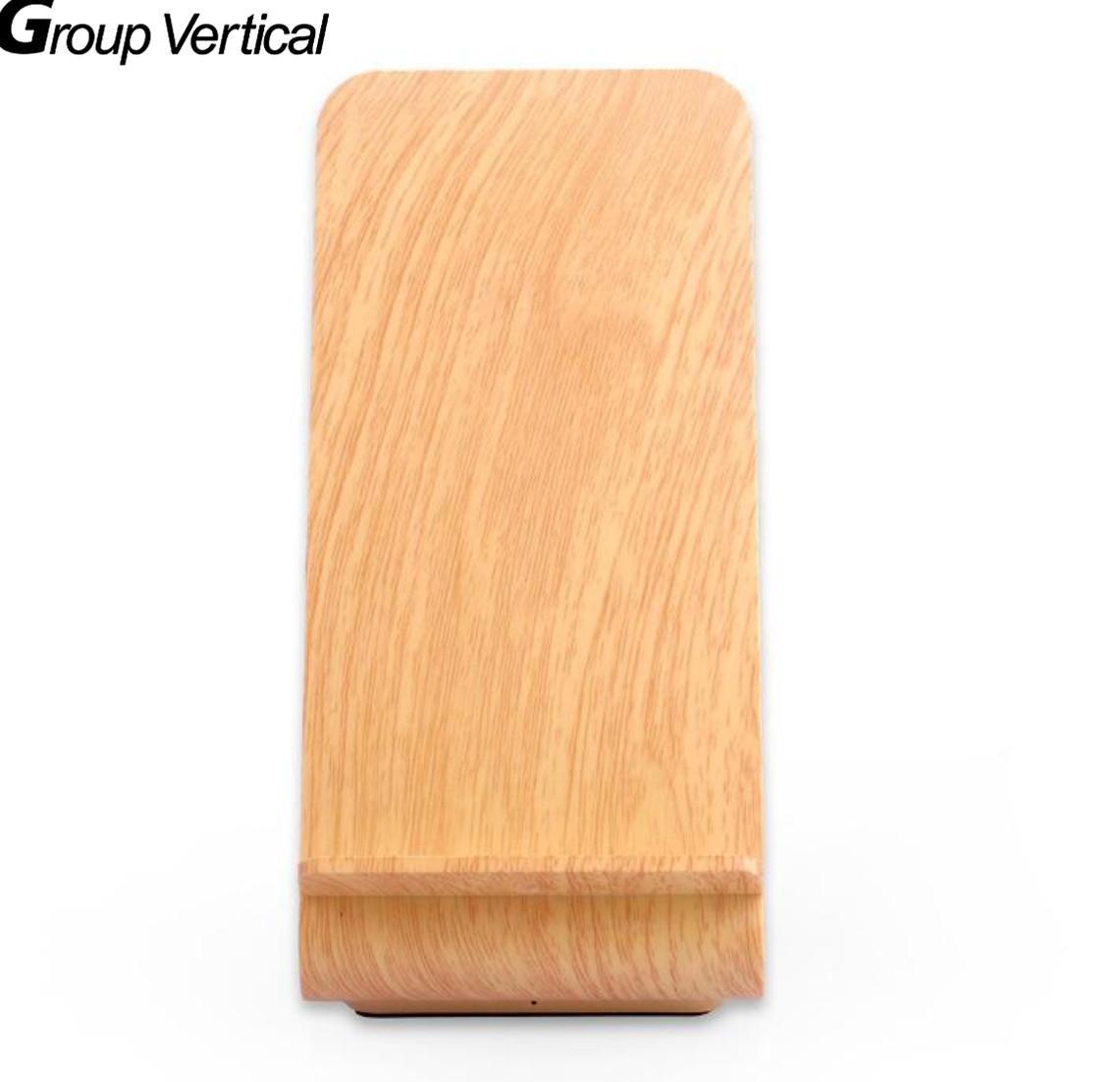 Группа Вертикальная QI Беспроводной Зарядные устройства заряжать и Настольная Подставка для зарядки Зарядные устройства для мобильных тел…