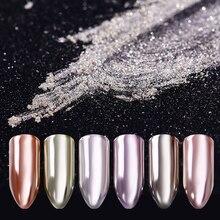 BORN PRETTY Silver Mirror Glitter Powder Shinning Nail Art C
