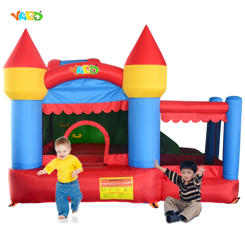 Outdoor Toy Bouncy Castle Have Area To Play And Inflatabel Slide Cama Slaetica Pula Pula Inflatable Trampoline Park yard new large size inflatable slide and with area for kids to play bouncy castle amusement park