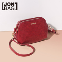JONBAG the bride's little red bag new autumn/winter 2019 fashion all in one one shoulder cross body shell bag