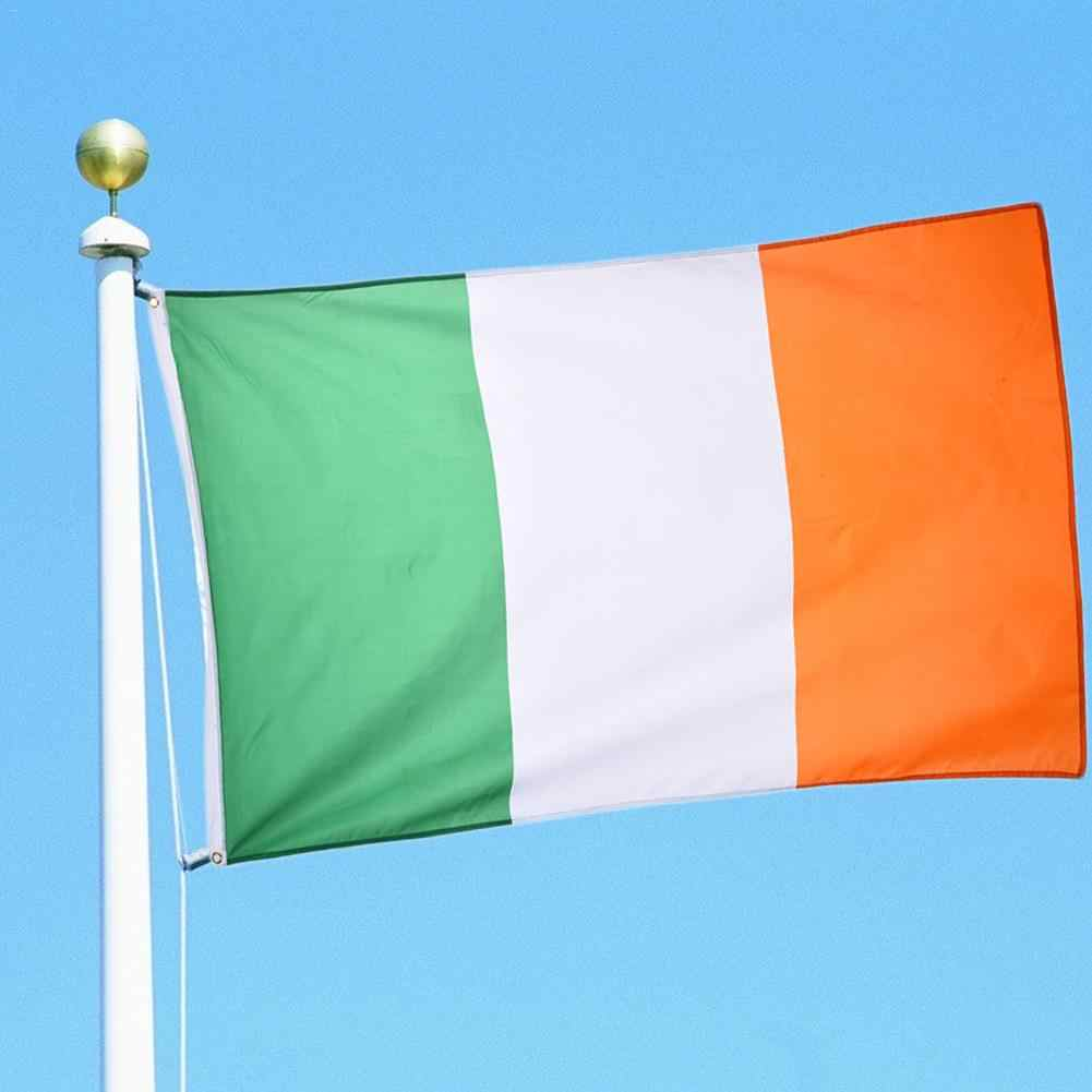 90x150cm Eire Banner Nationale Republiek Vlag Indoor Outdoor Land Polyster Ierse Vlag Banner Wimpels Voor Decoratie