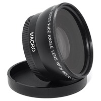 55MM 0 45x Wide Angle Lens Macro Lens For Sony Alpha A77 A280 A290 A380 A390
