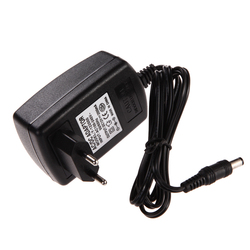 Штепсельная Вилка европейского стандарта AC 100-240 В адаптер преобразователя DC 5,5x2,5 мм 12V 2A 2000mA адаптер зарядного устройства для светодиодной л...