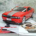 WELLY 1/24 Scale USA Dodge Challenger SRT Diecast Metal Car Model Toy New In Box For Gift/Collection/Kids