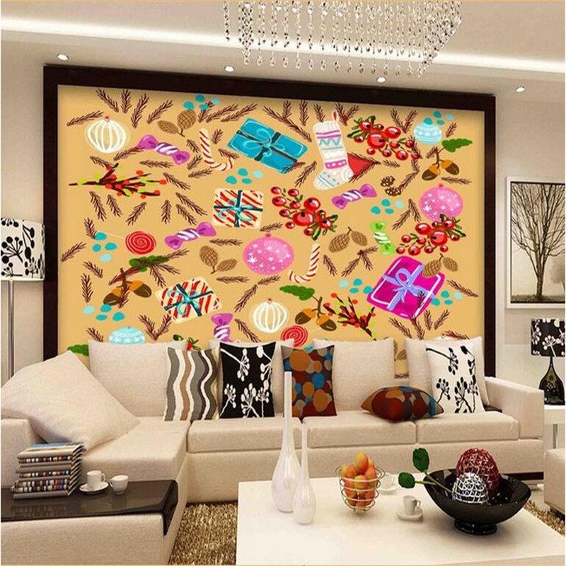 Cartoon Photo Wallpapers Kids 3D Wall Murals for Children Room Wall Papers Home Decor Living Room Luxury Modern Abstract Flowers custom large 3d wallpapers cartoon dog cat animals murals kids walls papers for children room living room home decor painting