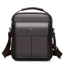 New Luxury Genuine Leather Men Handbag Shoulder Bag Hot Sale Cow Leather Bag Vintage Casual Style Flap Bags Men's Crossbody Bag luxury mens cow leather backpack leather bag military style