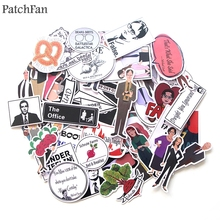 Patchfan 46pcs The office funny tv show Kids Toy Sticker for DIY scrapbooking album Laptop Phone notebook decal A1763