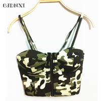 Crop Tops Women 2017 Sexy Backless Halter Tank Top Punk Nightclub Street Retro Camisoles Wrapped Chest