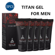 5pcs Russia TITAN GEl Original Intimate Goods for Man Enlarge Penis Ef