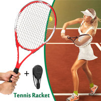 High Quality Carbon Fiber Tennis Racket Racquets Equipped With Bag Tennis Badminton Rackets Outdoor Racquet Sports