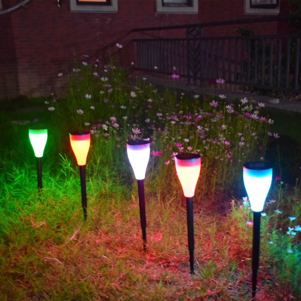 Garden Led Solar Pathway Lights Smart