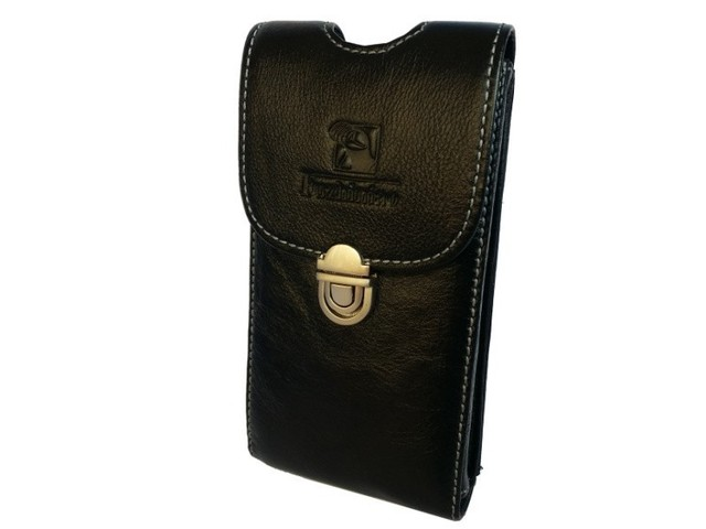 """2017 New Lenovo K3 Note 5.5"""" Android 5.0 Phone Genuine Leather Belt Clip Case Holster Pouch Belt Waist Cover Free Drop Shipping"""