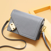 2019 new fashion women genuine leather shoulder bag female small handbag ladies messenger bag Russia women loved shoulder purse