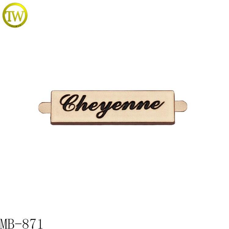 Aliexpress.com : Buy MB 871 Customized gold letter logo