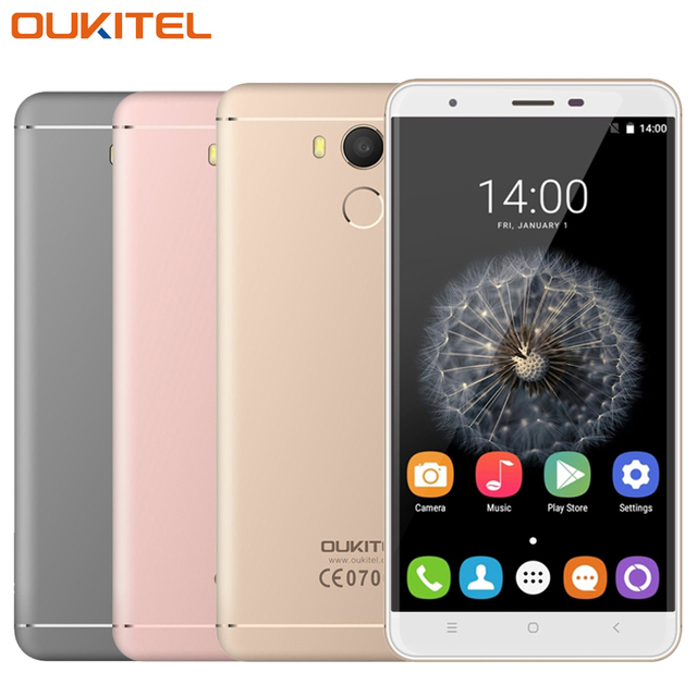 "Original OUKITEL U15 Pro 4G Mobile Phone RAM 3GB ROM 32GB MTK6753 Octa Core 5.5"" HD 16MP 3000mAh Android 6.0 Smartphone Presale"