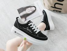 2019New Women Sneakers Denim Female Canvas Shoes For Women tennis  Sneakers Platform Woman Casual Shoes Small white shoes