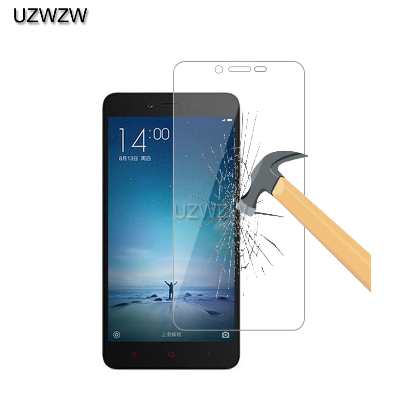 2pcs 9H 0.26mm Premium Tempered Glass For Xiaomi Redmi Note 2 Screen Protector Film Glass For Xiaomi Redmi Note 2 Glass