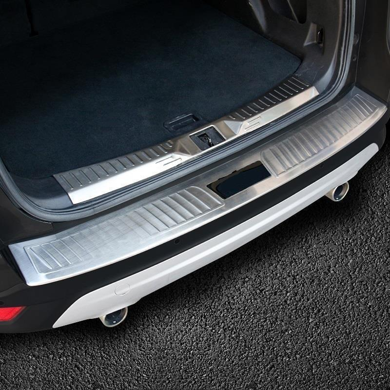 Foot Pedal Trunk Rear Panels Exterior Durable Chromium Modified Protecter Bright Sequins Parts 13 14 15