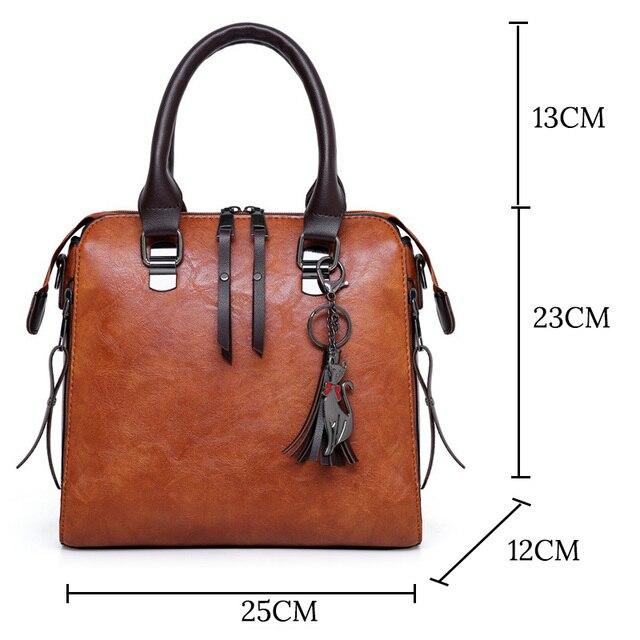 Luxury Brand 4 Psc/set Women's Handbags Large Capacity Women Bag Ladies Leather Tote Fashion Shoulder Bags for Women 2019 Wallet