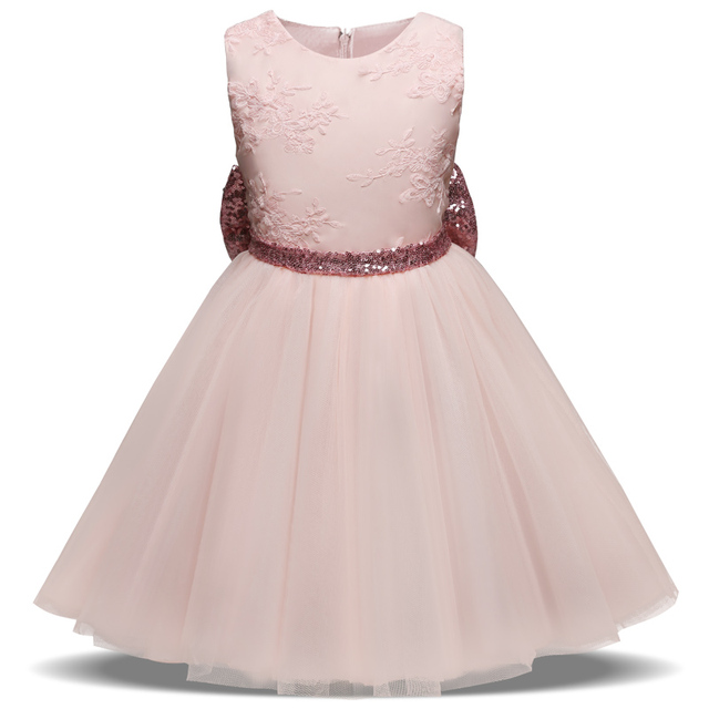 b679e509caec Summer Lace Princess Girl Dress Baby Girl s Infant Party Dress ...