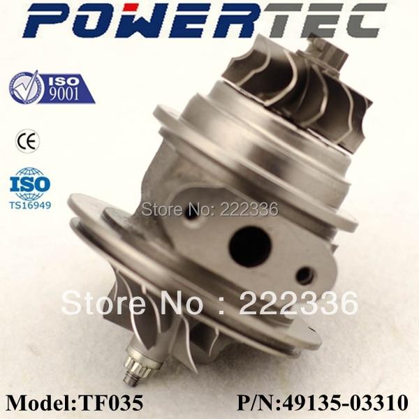 TF035 49135-03301 turbo chra / cartridge for Mitshubishi pajero 4m40 2.8l