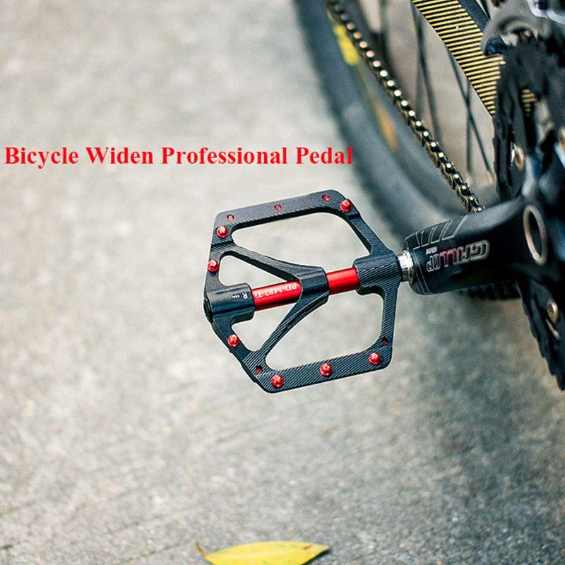 Flgt-promend pédale de vélo ti arbre vtt sport pédale Ultra légère 251g antidérapant grand bloc porter pédale de haute qualité