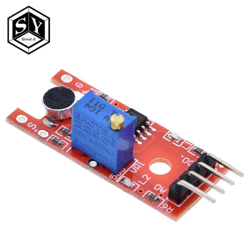 Módulo de sensor de som de voz de microfone, sensor analógico de saída digital KY-038 ky 038