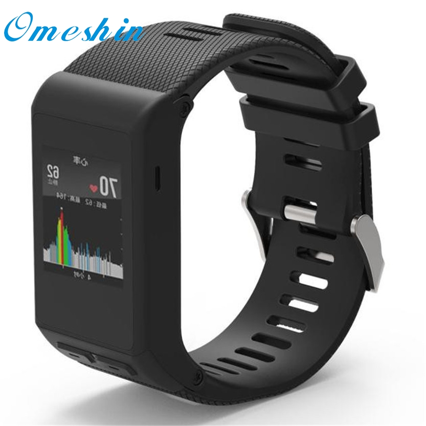 New Fashion Sports Silicone Bracelet Strap Band For Garmin vivoactive HR  SZ1219