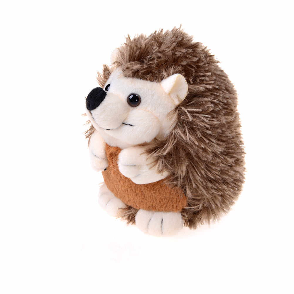 1pcs Cute Soft Hedgehog Animal Doll Stuffed Plush Toy Child Kids Home Wedding Party Best Gift Toys For Children