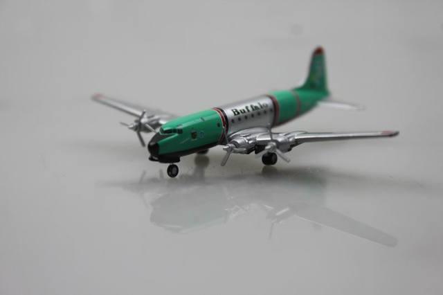 Rare herpa 1: 500 Douglas DC 4 Búfalo C-GCTF Aleación Airways aviones modelo