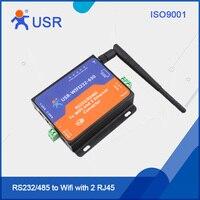 Konwertery USR-WIFI232-630 RS232 485 WiFi Wsparcie ModBus TCP HTTP z Certyfikatem CE FCC RoHS