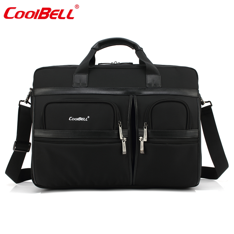 Cool Bell laptop briefcase messenger bag for macbook pro 15 retina carry case for notebook laptop 15.6/17.3 inch waterproof hot ladies handbag for laptop 14 for macbook air pro retina 12 13 14 1 notebook lady bag women purse free drop ship84s3