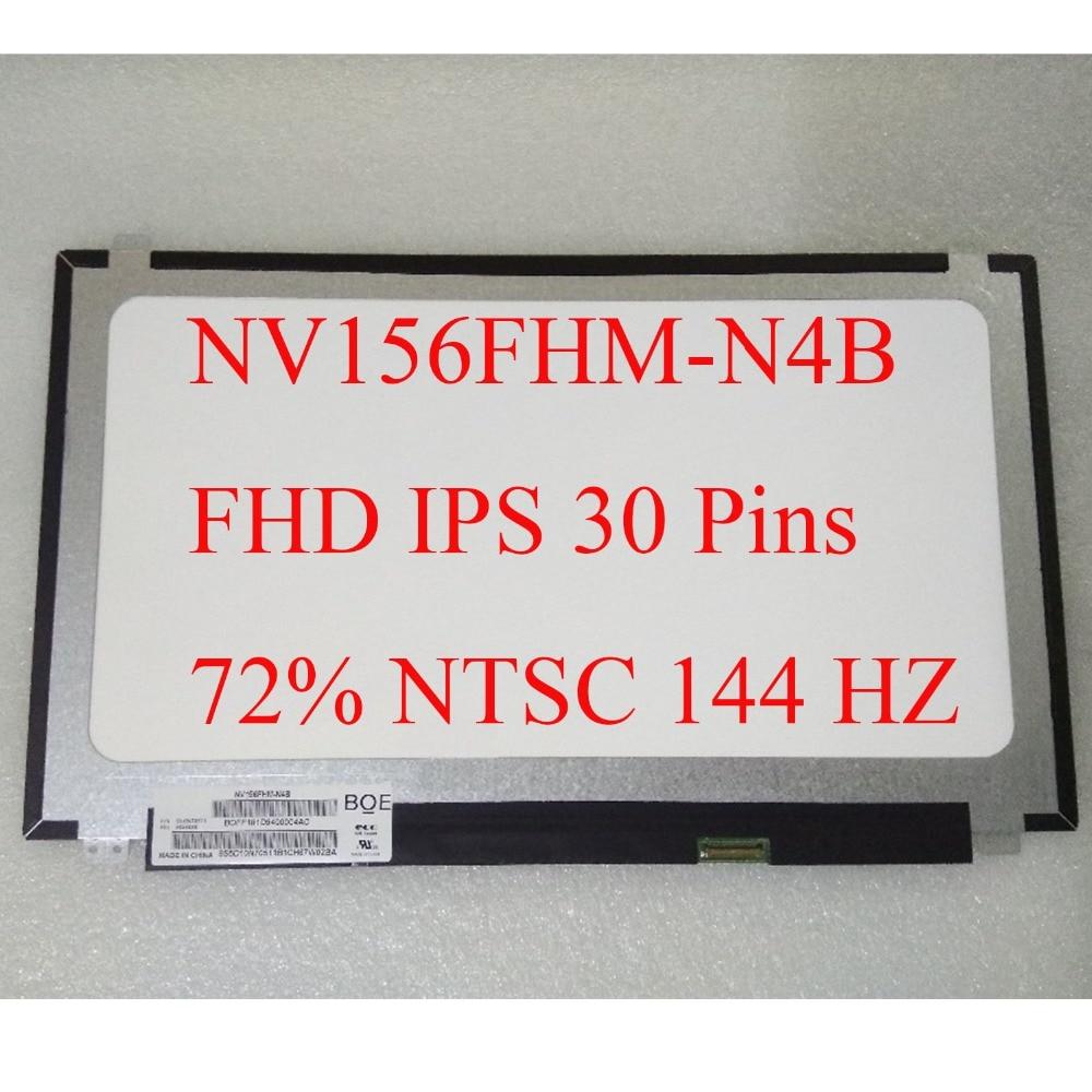 For BOE NV156FHM N4B 144HZ 72 NTSC FHD 1920X1080 Matte LED Matrix for Laptop 15 6