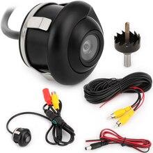 360 градусов HD CCD Автомобильная камера заднего вида ночного видения резервная парковочная камера IP67 водонепроницаемая Проводная автомобильная камера