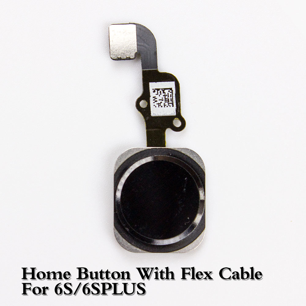 Brand New White&Black&Gold&Rose For IPhone 6S 6S Plus Home Button With Flex Cable For IPhone 6S+ Home Key Assembly NO TOUCH ID