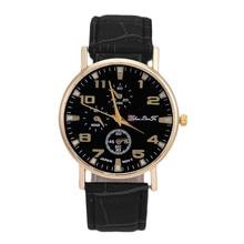 Lovesky 2016 New Fashion Men Women Watch Luxury Unisex Leather Band Quartz Wrist Watches Male Business Watch relogio Clock