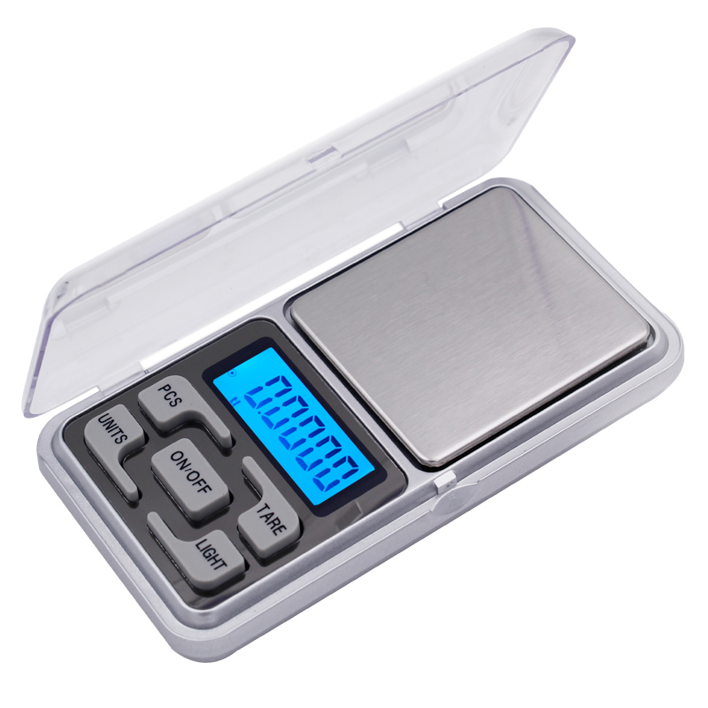 200g x 0.01g Electronic Pocket Jewelry 5 keys scale LCD Digital Scale Weight Balance with retail box 30%off 1 5 lcd digital electronic scale 2 x aaa