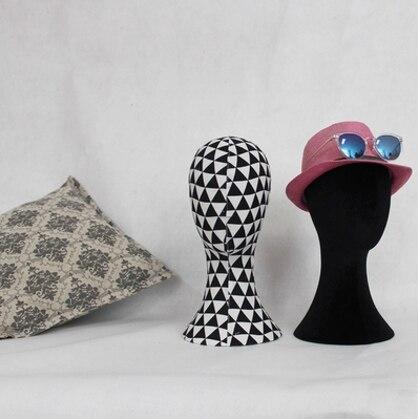 Tête de Mannequin femme modèle de tête de tissu à la mode nouveau Style pour l'affichage
