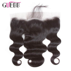 Abdo Lace-Frontal-Closure Free-Part Body-Wave Brazilian 100%Human-Hair Non-Remy