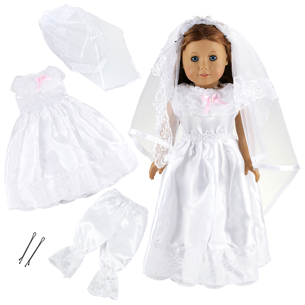 12 Items lot Doll Accessories 6 x Clothes 6 x Accessories Shoes For 18 Inch Baby Reborn America Girl Doll Our Generation Clothes in Dolls Accessories from Toys Hobbies