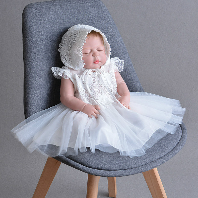 2018 Summer Baby Girl Dress Bebes Children Clothing Wedding Party Dresses 1 Years Infant Birthday Clothes Newborn Princess Dress