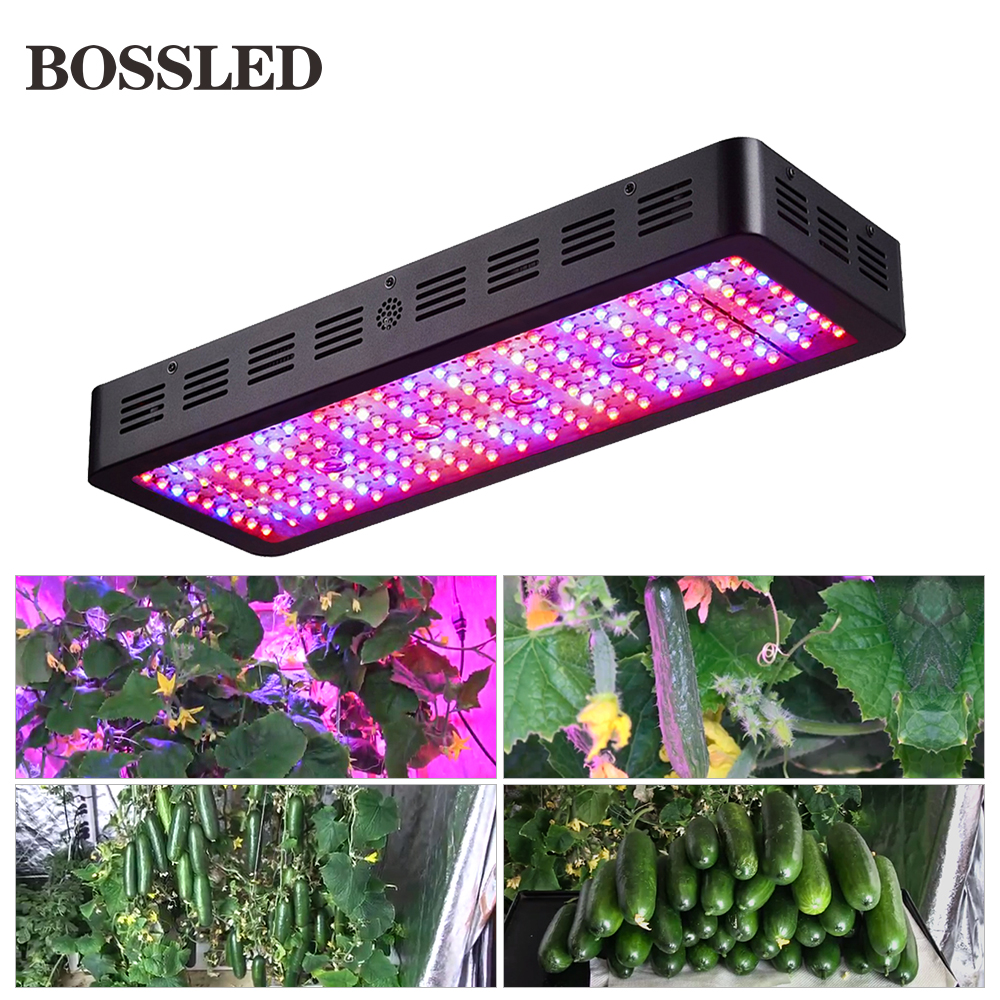 BOSSLED 300W 600W 800W 1000W 1200W 1500W 1800W 2000W Led grow light lamps panel for indoor
