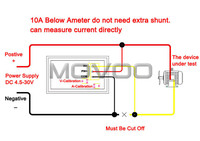 5 шт./лот цифровой вольт ампер метр постоянного тока 4.5 - 30 в / 2а красный из светодиодов вольтметр амперметр двойной текущий дисплей напряжение постоянного тока 12 в 24 в тестер