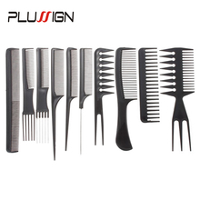 Anti-Static Comb-Set Hairdresser-Brush Hairstyle for Kids Travel Styling-Tools-Sets 10pcs/Lot